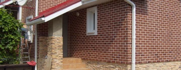 Плитка фасадная — отделочные и облицовочные материалы