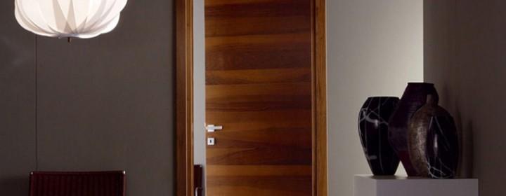 Шпонированные двери из бука – надёжность и долговечность