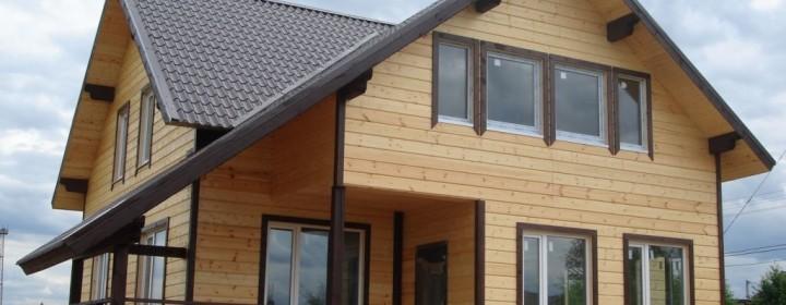 Облицовка дома из бруса, выбор материалов