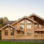 Строительство современного дома из дерева