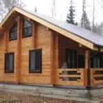 Дома из оцилиндрованного бревна – это стильно, тепло и уютно!