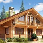 Плюсы дачных домов из бруса