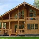 Каркасные деревянные дома из бруса