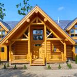 Деревянный дом из бруса и его достоинства